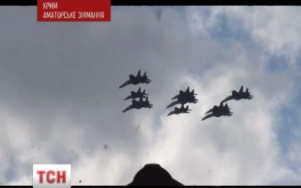 После начала АТО на Донбассе в небо над Крымом поднялись истребители