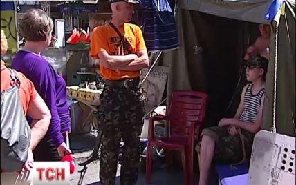 В палатках на Майдане живет полторы тысячи людей, которые не собираются ехать домой