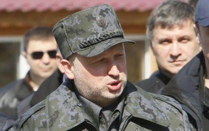 Турчинов пригрозил запретить партии, которые поддерживают сепаратистов