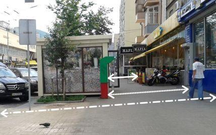 Киевским ресторанам разрешили занимать пешеходные тротуары летними площадками