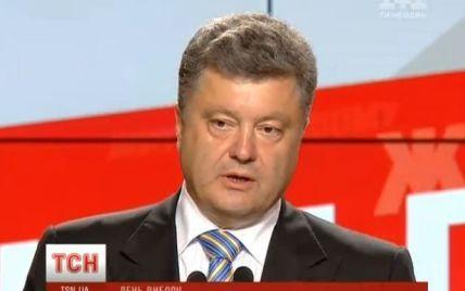 Телевизионный экзит-пол: Порошенко станет президентом в первом туре