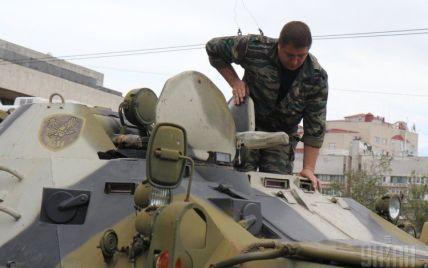 На границе между Крымом и Херсонщиной обнаружена замаскированная тяжелая техника РФ