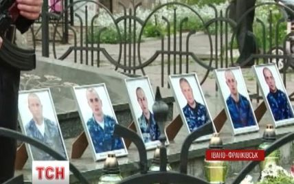 В Ивано-Франковске объявлен траур по погибшим под Славянском силовиками