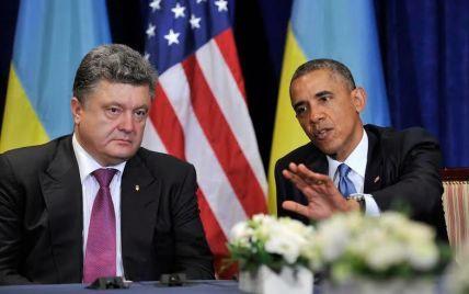 Обама пообіцяв Порошенку допомогти оновити українську армію та подолати залежність від Росії