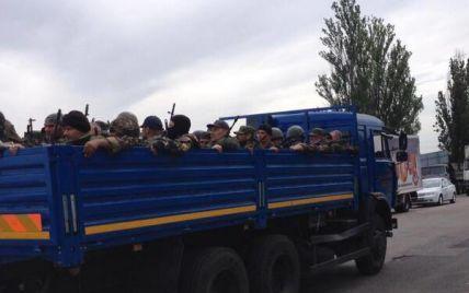 На Луганщине пограничники завязали бой с российскими террористами, которые прорвались в Украину