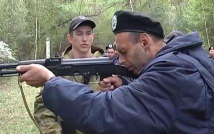 В Харькове бойцов Нацгвардии тренируют энтузиасты из местных стрелковых клубов