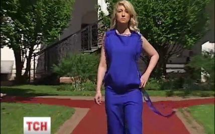 В Киеве доказывали, что будущие мамочки в правильной одежде очень стильные и привлекательные