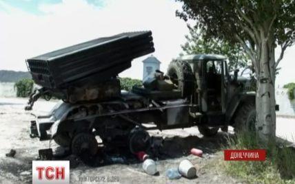 """Терористи на Сході маскували системи """"Град"""" під звичайні вантажівки"""