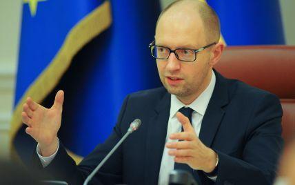 """Яценюк надеется на """"появление светлой мысли"""" у россиян и подписание соглашения с """"Газпромом"""""""