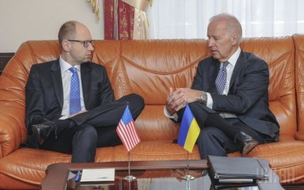 """Байден та Яценюк обговорили ситуацію на Донбасі та зустріч глав МЗС у """"нормандському форматі"""""""