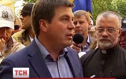 """В адміністрації Порошенка відреагували на мітинг бійців """"Донбасу"""": це роз'єднує людей"""