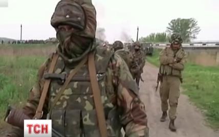 """На Луганщине террористы притворяются """"украинцами-предателями"""""""