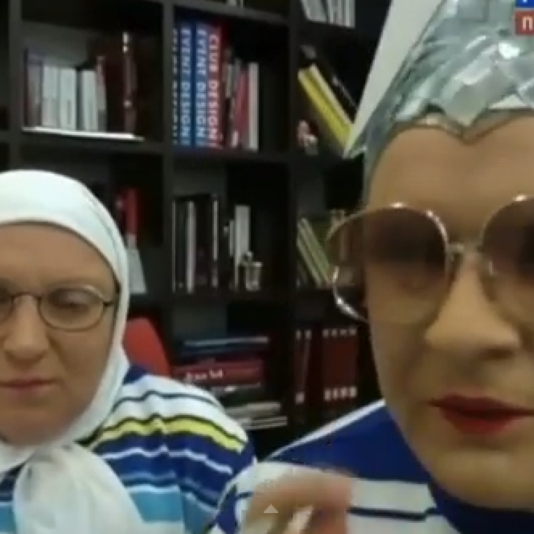 Сердючка вступилась за победительницу Евровидения Кончиту Вурст на российском шоу