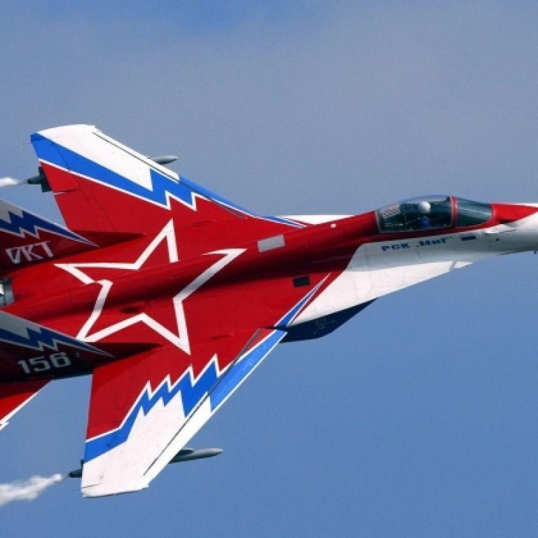 В России разбился истребитель МиГ-29