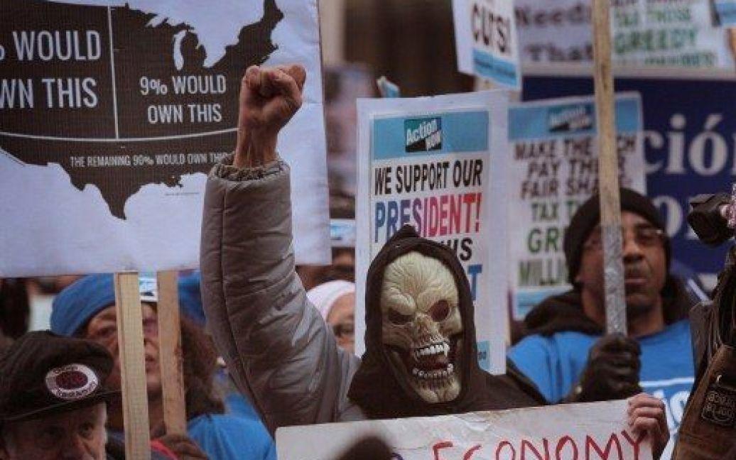 """17 листопада. Двомісячний ювілей """"Захопи Уолл-стріт"""" / © AFP"""