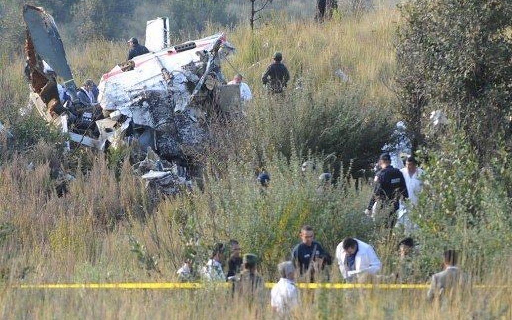 Фото з місця авіакатастрофи / © AFP