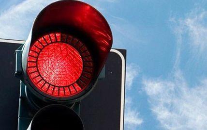 Правоохоронець влаштував ДТП, пролетівши на червоне світло