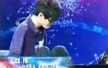 """Победителем китайской """"Минуты славы"""" стал безрукий пианист"""