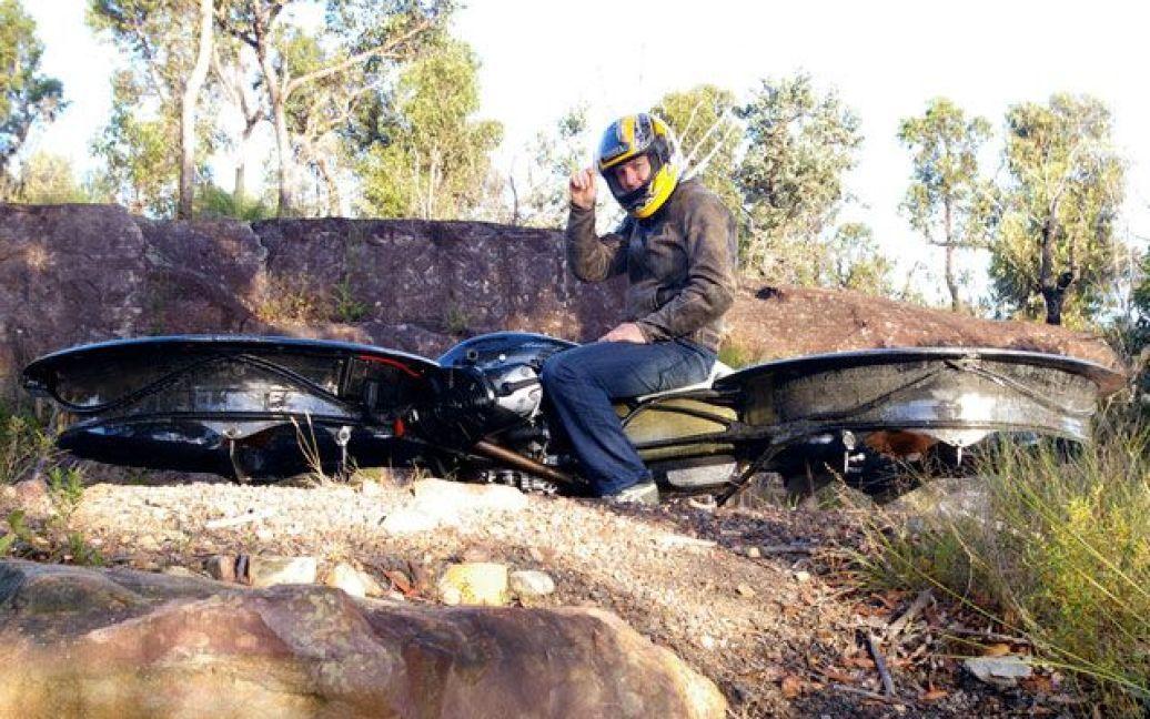 Австралієць винайшлов літаючий мотоцикл / © hover-bike.com