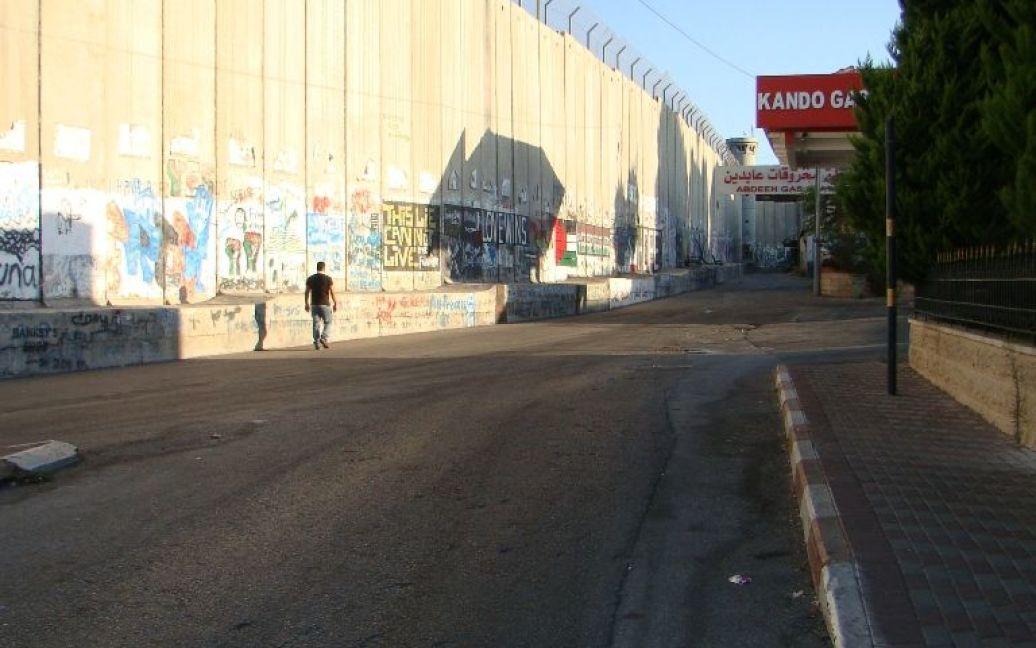 Стена между Израилем и Палестиной в Вифлееме. Фото Дмитрия Шаповалова / © euronews.com
