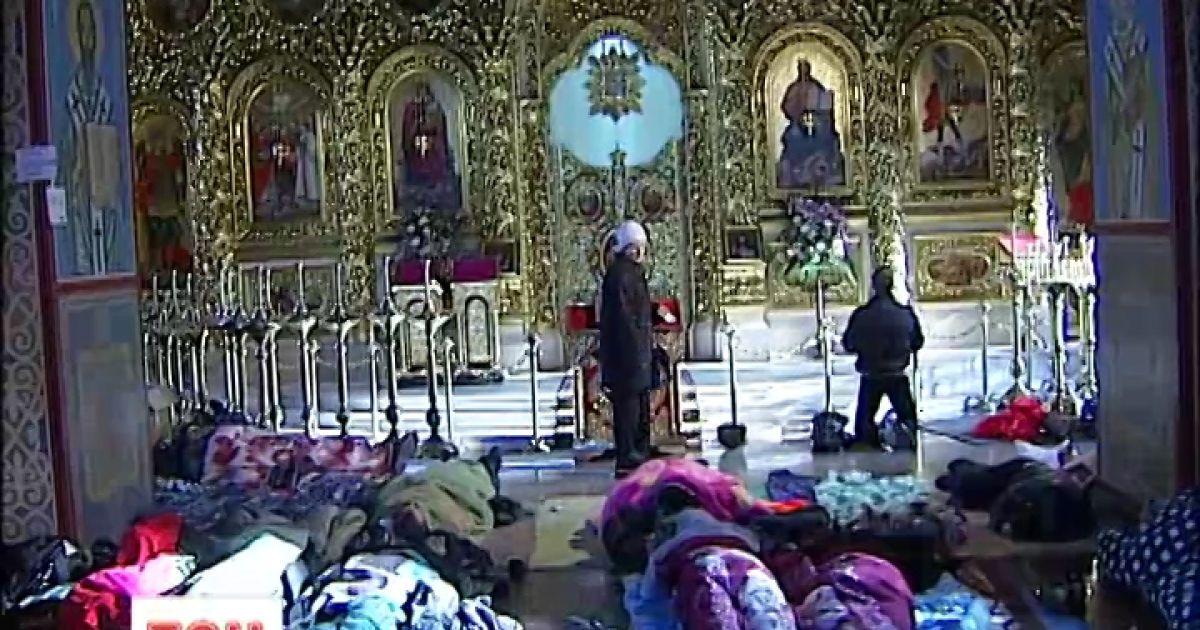Михайлівський собор перетворили на шпиталь