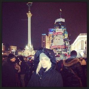 Молодая жена Фалесы Маша Гойя прокомментировала события в Украине