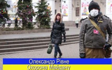 Євромайдан у супроводі культового гурту весело та мелодійно привітав Україну з Різдвом