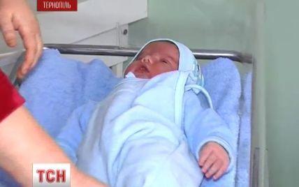 В Тернополе родился младенец-великан