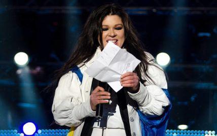 В новогоднюю ночь исполнительница Руслана спела культовые хиты со сцены Майдана