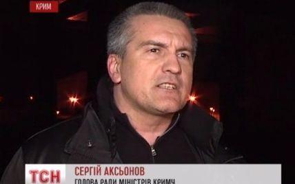 Новый глава правительства Крыма заставляет силовиков подчиняться Совету автономии