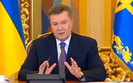 Янукович не признал своего отстранения от власти