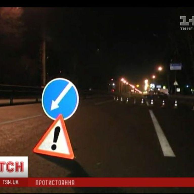 Ночью со всех сторон заблокировали въезды в Киев