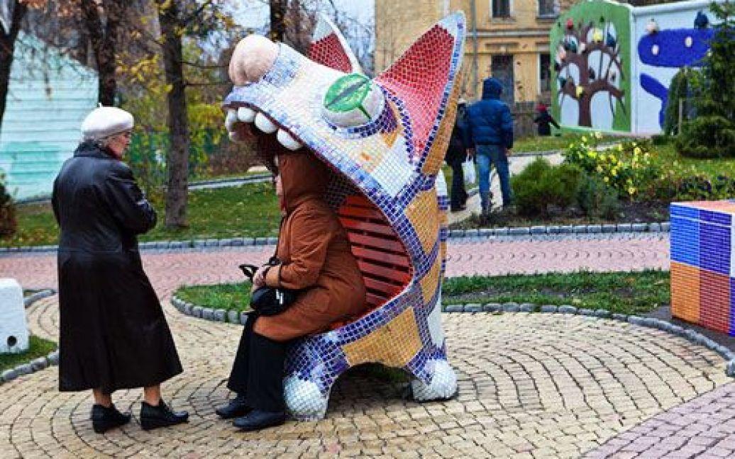 Сквер на Пейзажній алеї перебуває під загрозою знищення / © russos.livejournal.com
