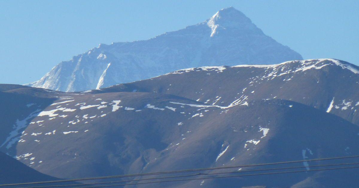 Эверест издалека / ©