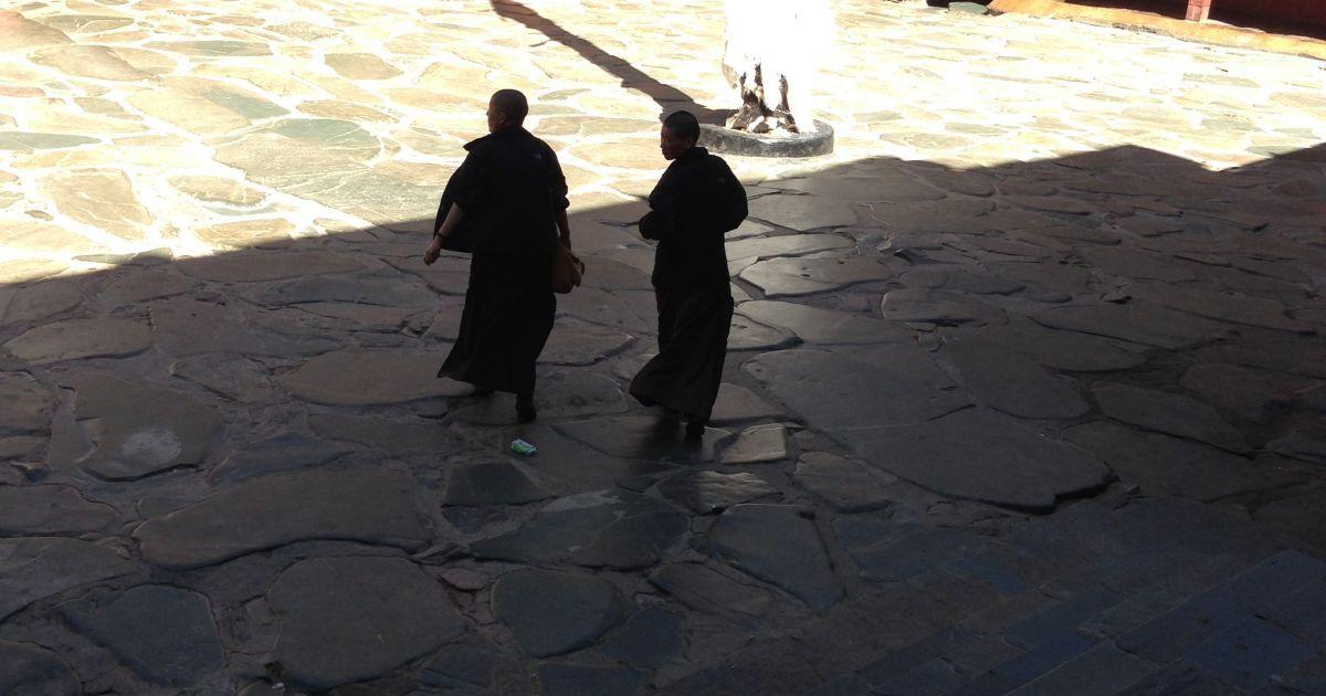 Монахини зашли в гости. Шигадзе / ©