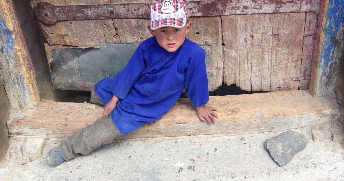 Тибетский ребенок / ©
