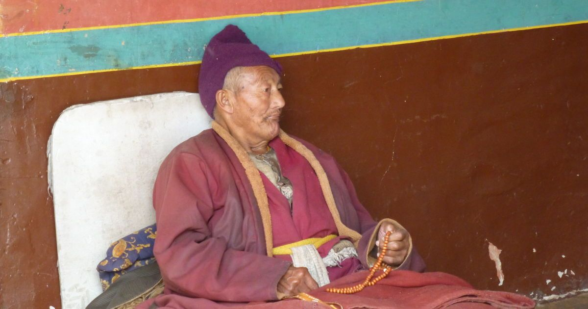 Монах в Дрепунге / ©