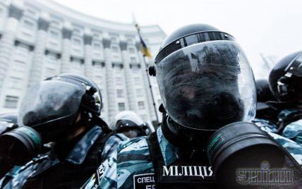 """""""Беркутівці"""" пішли з Євромайдану та рушили до будівлі Кабміну"""