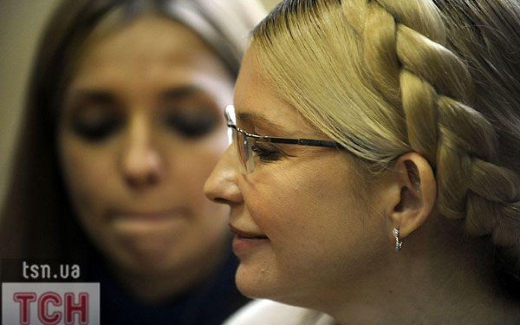 Оголошення вироку. Тимошенко та її дочка Євгенія Карр / © Євген Малолєтка/ТСН.ua