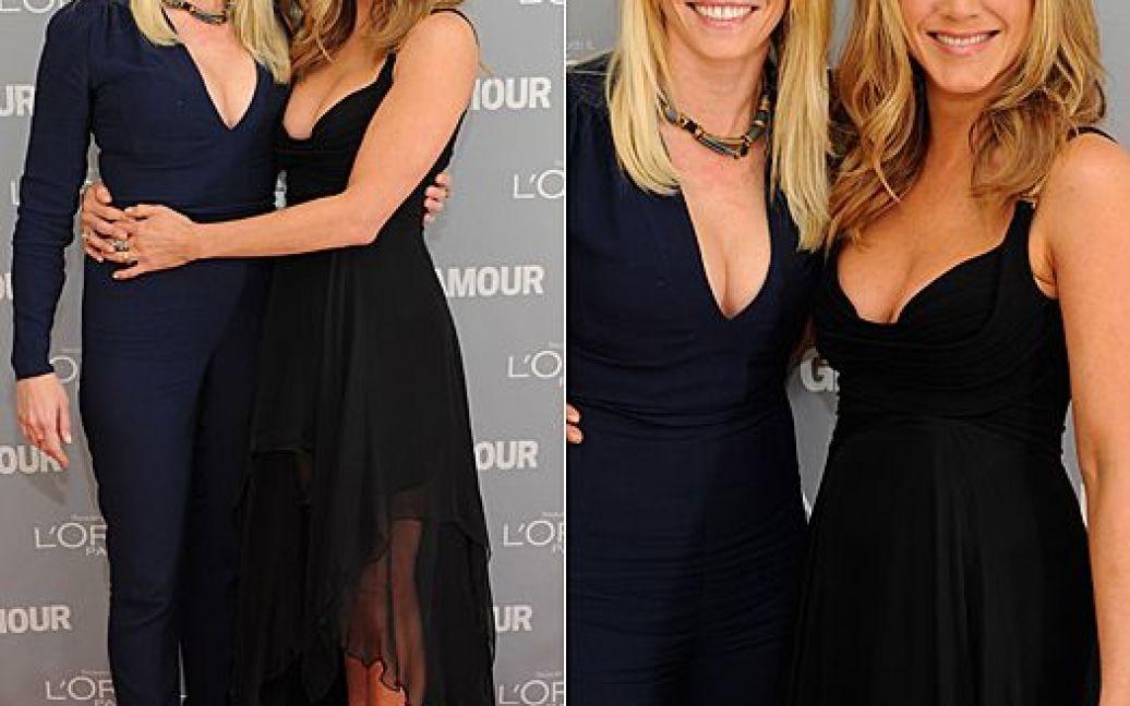 Челсі Хендлер і Дженніфер Еністон / © glamour.ru