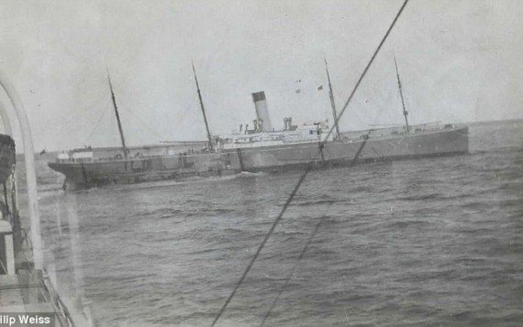 """Корабель """"Каліфорнія"""", який не помітив сигналів SOS з """"Титаніка"""" / © Daily Mail"""