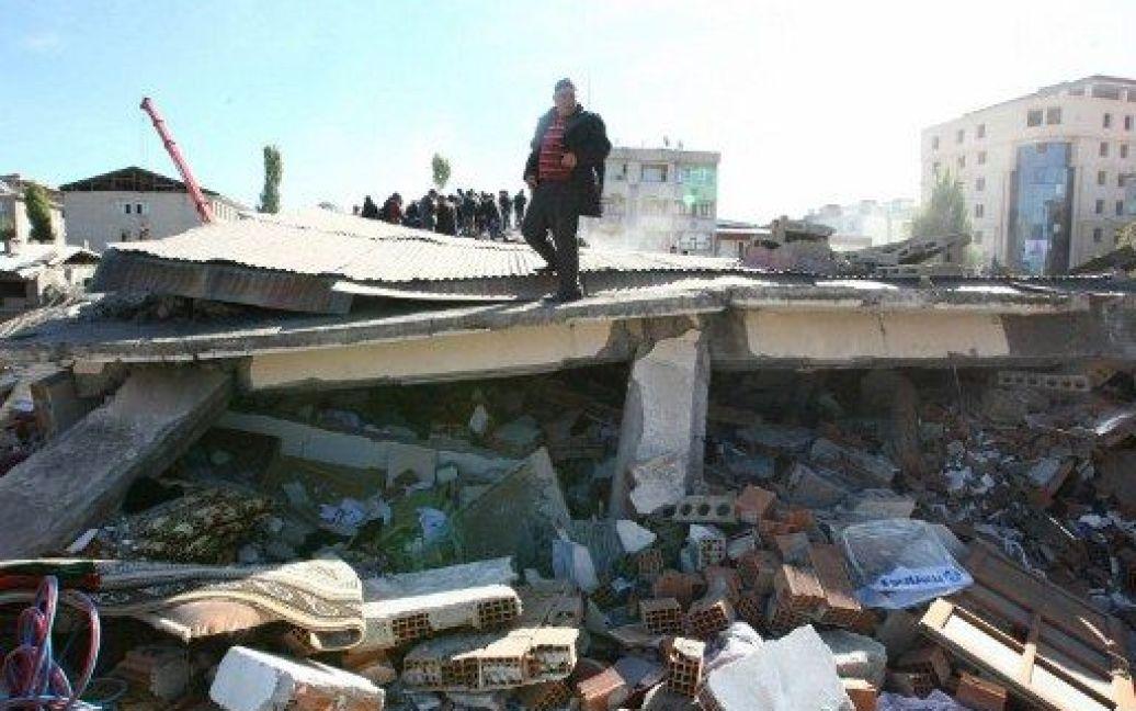 Туреччина після землетрусу, місто Ван / © AFP