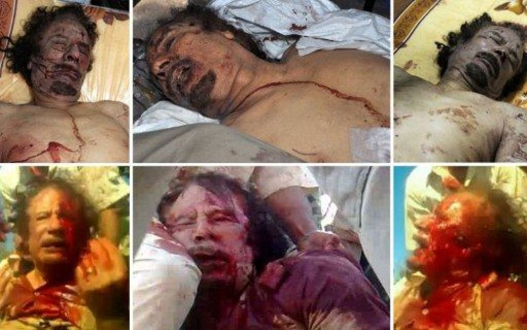 Мертвий Каддафі / © AFP