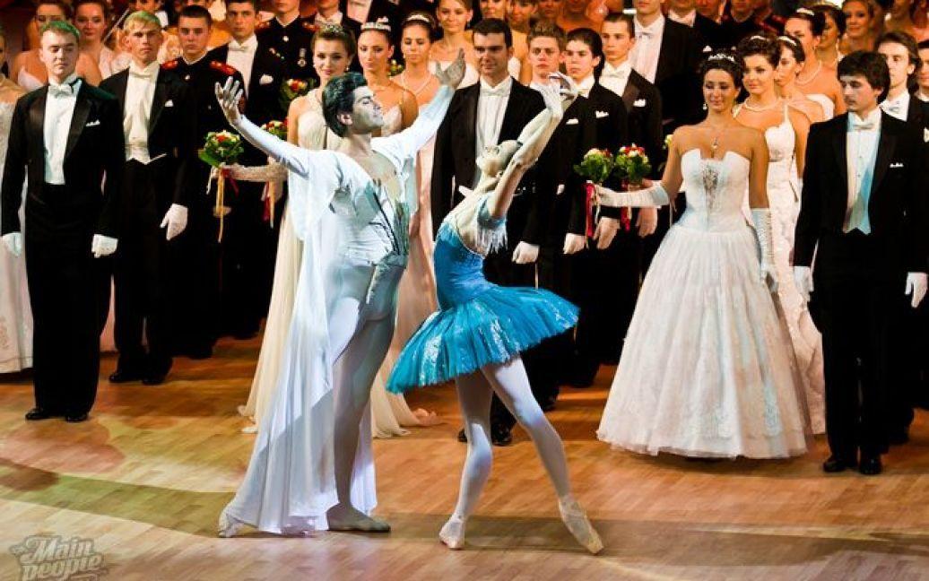 В Національній опері України відбувся перший Пушкінський бал / © Main People