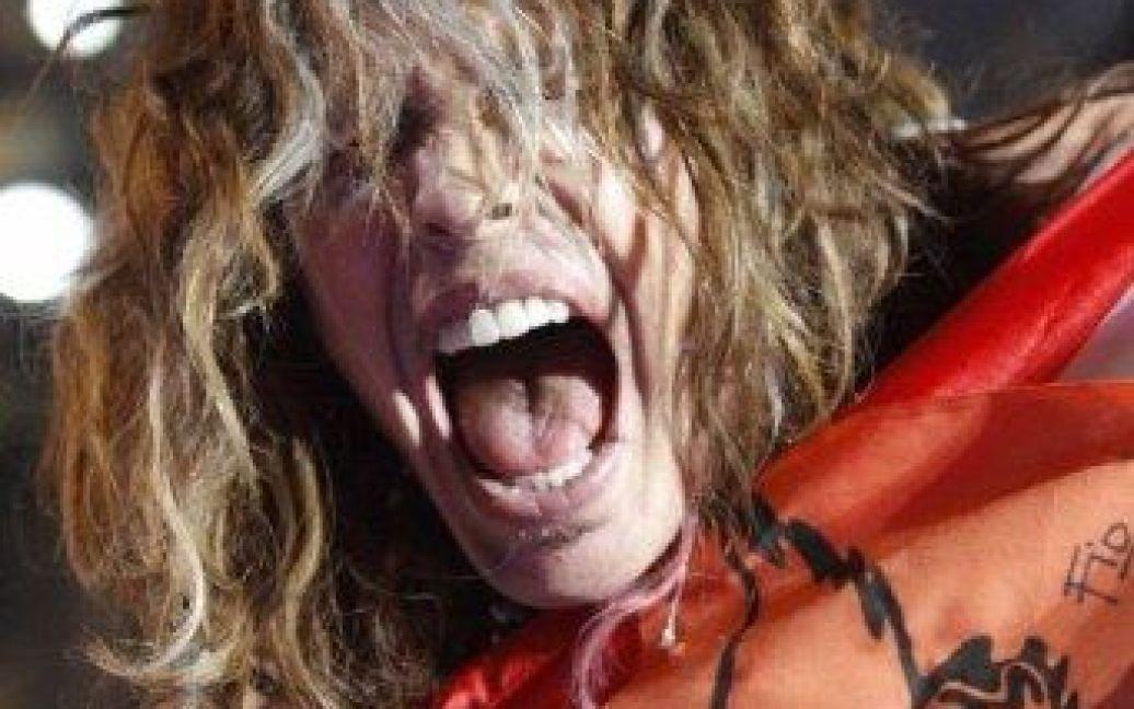 Тайлеру оперативно вставили передні зуби / © AFP