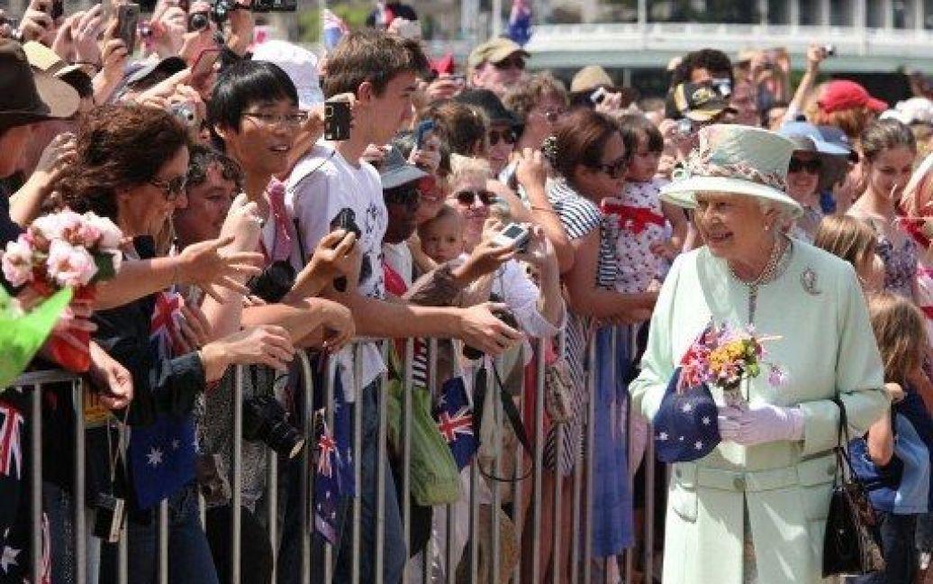 Єлизавета II в Брісбені / © AFP