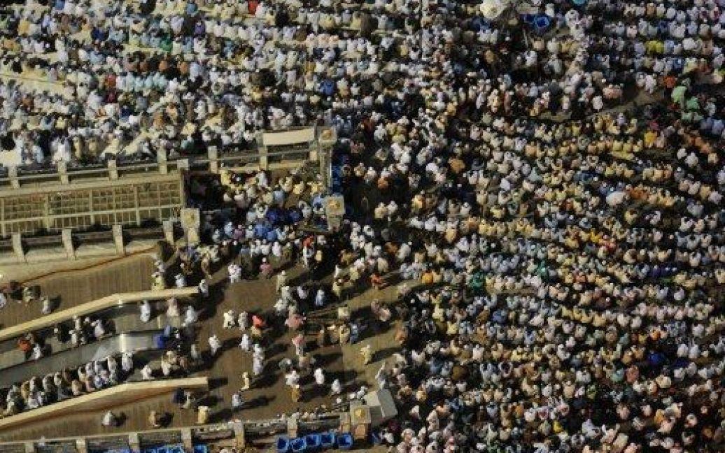 Мекка. Прочани з'їхалися на хадж / © AFP