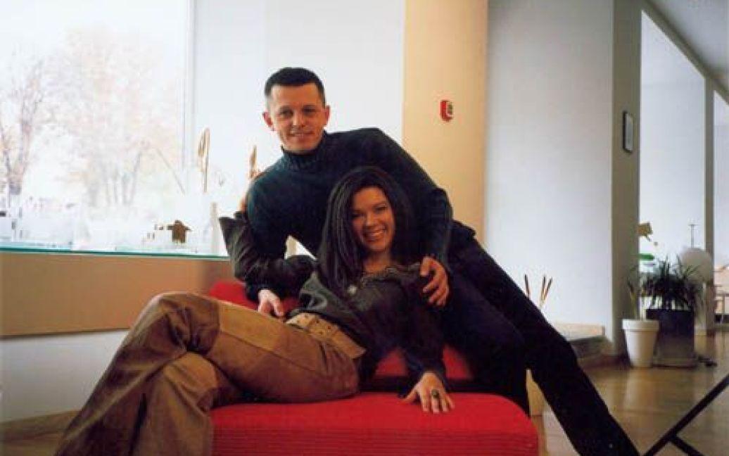 Руслана і Олександр Ксенофонтов у шлюбі вже більше 15 років / © Архів