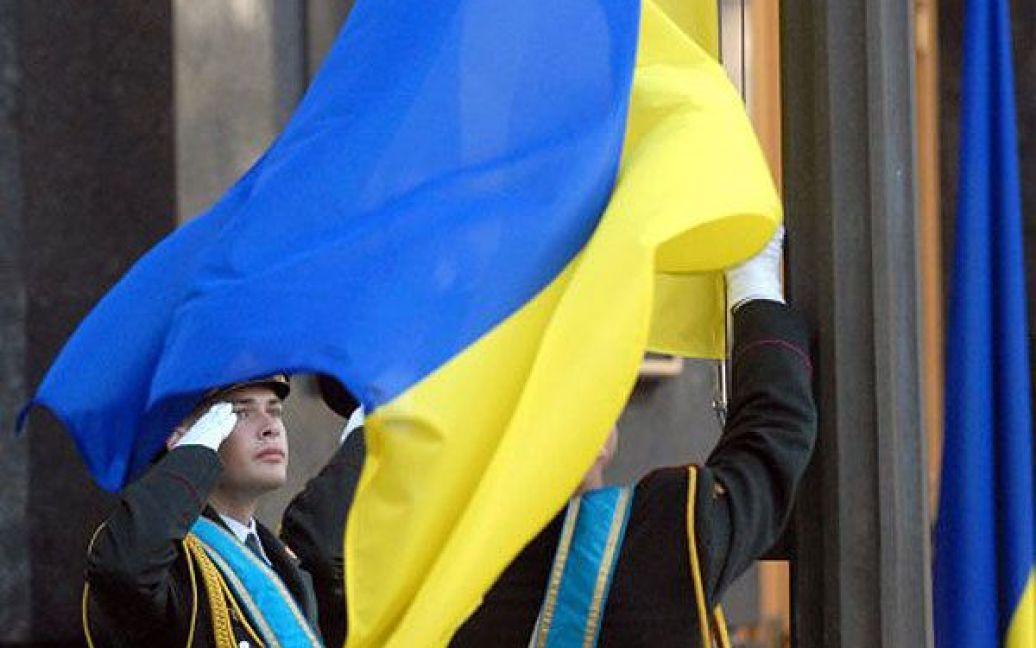 Указ президента про щорічне відзначення 23 серпня Дня Державного прапора України був підписаний у 2004 році. / © УНІАН