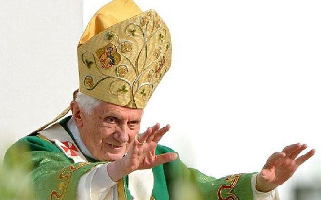 Папа Римський Бенедикт XVI / © AFP